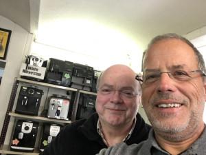 Herr Pipp und peter Kaffeevollautomat