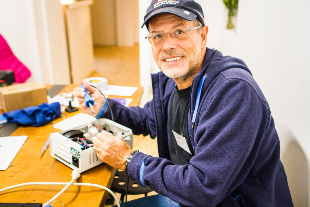 Gründer Peter Erlebach _repaircafe©Apollonia Bitzan
